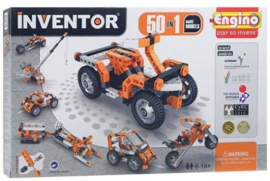 Конструктор ENGINO Набор из 50 моделей с мотором 5030 конструкторы engino inventor набор из 90 моделей с мотором