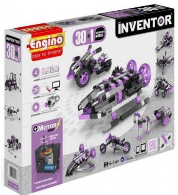 Конструктор ENGINO Набор из 30 моделей с мотором Приключения 3031 игрушка meccano набор приключения в пустыне 20 моделей