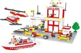 Конструктор Ausini Пожарные 433 элемента 21701