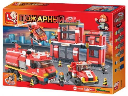 Конструктор SLUBAN Отдел пожарной охраны 693 элемента M38-B0226