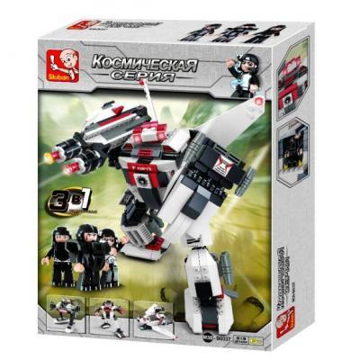 Купить Конструктор SLUBAN Генерал Руин 382 элемента M38-B0337, Мягкие конструкторы для детей