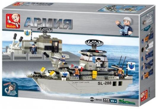 Конструктор SLUBAN Военный флот 449 элемента M38-B0122 конструктор sluban формула 1 m38 b0353