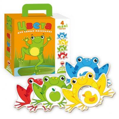 Купить НИ Цвета для самых маленьких, Vladi toys, 18X22X5 см, Развивающие настольные игры