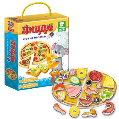 Фото - Игра магнитная Крошка Шеф Пицца магнитная игра одевашка vladi toys соня