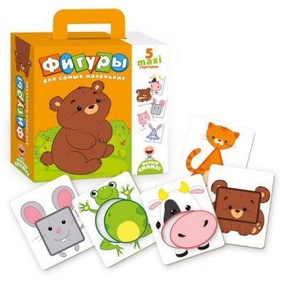 Купить НИ Фигуры для самых маленьких, Vladi toys, 18X22X5 см, Развивающие настольные игры