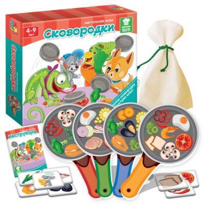 Настольная игра Vladi toys обучающая Сковородки VT2309-09 настольная игра обучающая vladi toys сковородки vt2309 09