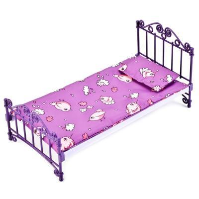 Кроватка для кукол Огонек Кроватка С-1425