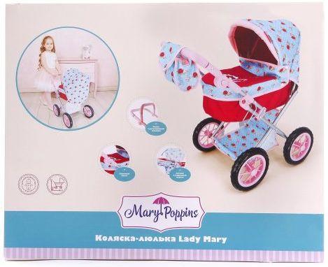 цена на Коляска для кукол Mary Poppins Lady Mary 67332