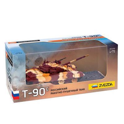 Танк Звезда Российский танк Т-90С 1:72 хаки 2500 танк zhorya танк хаки в85860