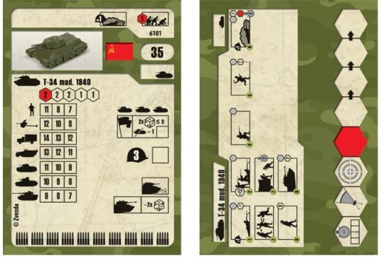 Фото - Танк Звезда Советский средний танк Т-34/76 (обр 1940г) хаки 6101 конструкторы звезда модель танк т 34 85