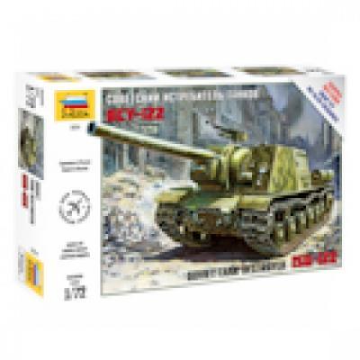 Истребитель танков Звезда Советский истребитель танков ИСУ-122 1:72 зеленый 5054 истребитель танков звезда советский истребитель танков ису 122 1 72 зеленый 5054