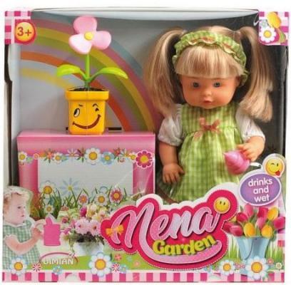 Кукла Dimian NENA набор с цветком 36 см писающая пьющая BD386 nena dortmund