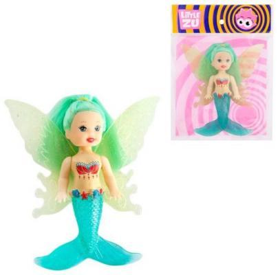 Купить Кукла Little Zu Русалочка-Фея 90041A/1, пластик, текстиль, Классические куклы и пупсы