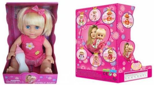 Кукла Defa Диана 35 см с бут., в ассорт., звук, эл.пит.вх.в компл., кор. кукла defa lucy 6023