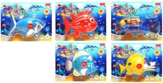 Игрушка для купания Заводная команда, в ассорт., блистер игрушка заводная мал в ассорт