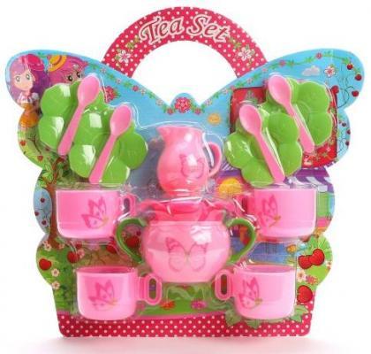 Набор посуды Наша Игрушка Бабочки LN589A игрушка