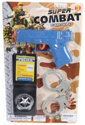 Набор Наша Игрушка Военная полиция синий черный серый 9018L-6