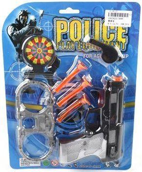 Набор оружия Наша Игрушка Полицейский черный 368F