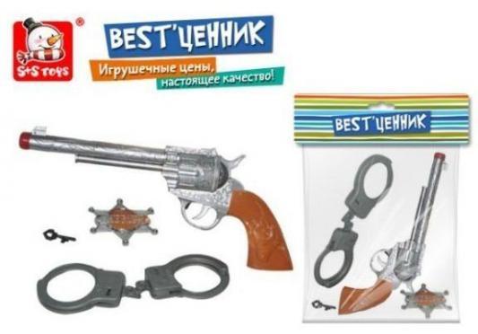 Набор Наша Игрушка Отважный шериф серый серебристый коричневый 100218672