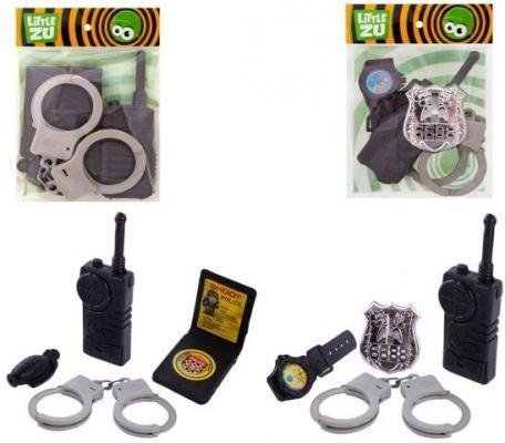 Набор Little Zu Набор Полицейского серый черный 90036CD