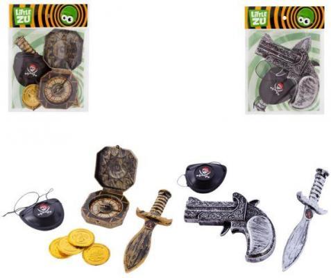 Набор оружия Little Zu Пираты цвет в ассортименте 90036EF набор фигурок little zu динозавры 90050в