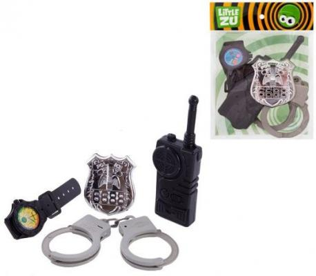 Набор Little Zu Набор Полицейского черный серый 90036C urban decay little vices набор little vices набор