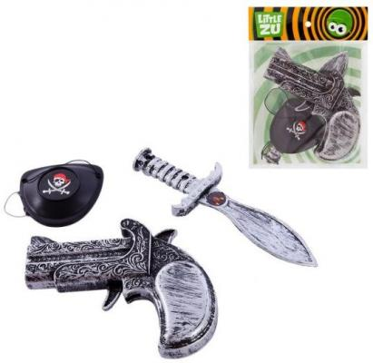 Набор оружия Little Zu Пираты серый 90036E набор фигурок little zu динозавры 90050в
