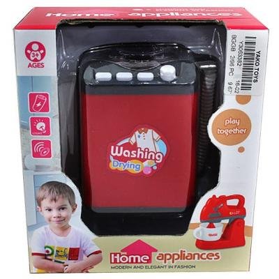 Стиральная машина Наша Игрушка Стиральная машинка со звуком и светом Y3063382 игрушка микрофон со светом и музыкой