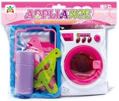Стиральная машина Наша Игрушка Стиральная машинка со звуком и светом 100810247 стиральная машинка малютка москва