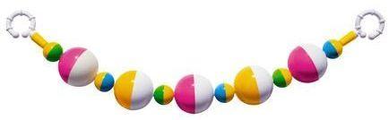 Погремушка-подвеска шарики стеллар погремушка дудочка стеллар
