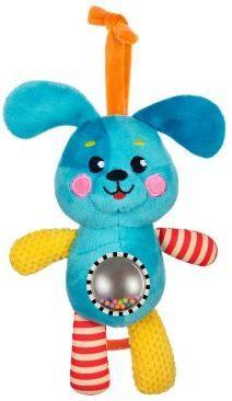 Музыкальная подвеска-погремушка с зеркальцем Щенок погремушка щенок