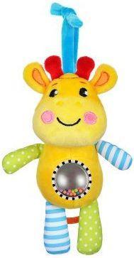 Музыкальная подвеска-погремушка с зеркальцем Жирафик подвесные игрушки жирафики музыкальная жирафик дэнни