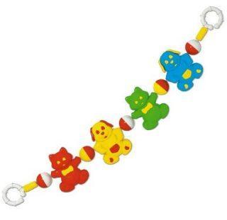 Погремушка подвеска на коляску Домашние любимцы puzzle 2х3х4х5 домашние любимцы 36053