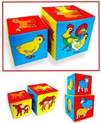 Кубики МЯКИШИ Чей детеныш от 1 года 2 шт 169 кубики мякиши животные 2 236