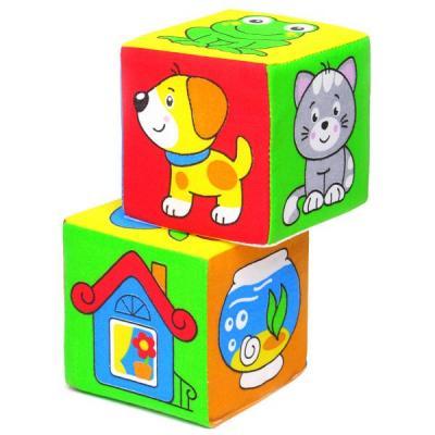 Кубики МЯКИШИ Чей домик от 1 года 2 шт 111 кубики мякиши животные 2 236