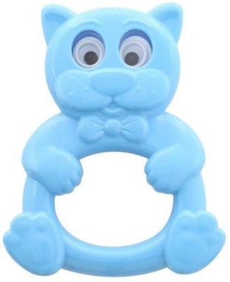 Купить Погремушка Котёнок, СТЕЛЛАР, синий, унисекс, Погремушки и прорезыватели