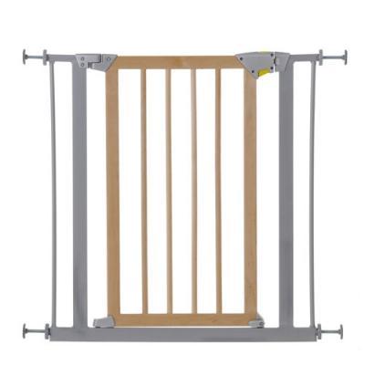 Ворота безопасности Hauck Meta Wood Deluxe 75-81см 597118 барьеры и ворота red castle auto close ворота безопасности для дверей и лестниц 68 5 75 5