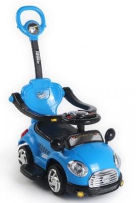 Каталка-машинка Наша Игрушка Машина-каталка Лидер синий от 3 лет пластик L3018/BLUE
