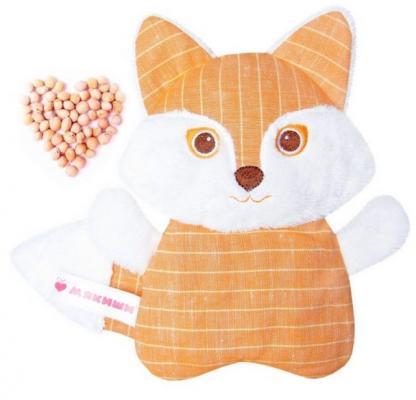 Игрушка-рукавичка МЯКИШИ Доктор Мякиш-Лиса 352 мякиши игрушка грелка доктор мякиш сова