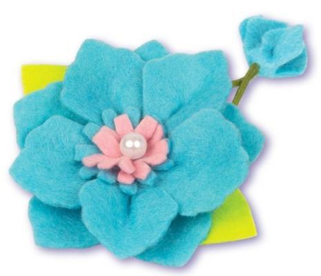 Набор для тв-ва украшение для волос Анемона из фетра набор для тв ва фигурки из фетра мордашки на карандашики