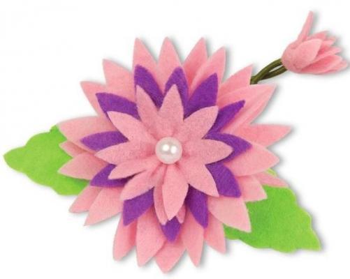 Набор для тв-ва украшение для волос Хризантема из фетра