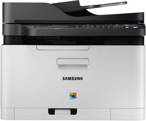 МФУ HP Samsung Xpress SL-C480FW цветное А4 18ppm 2400x600dpi Wi-Fi Ethernet USB SS256M