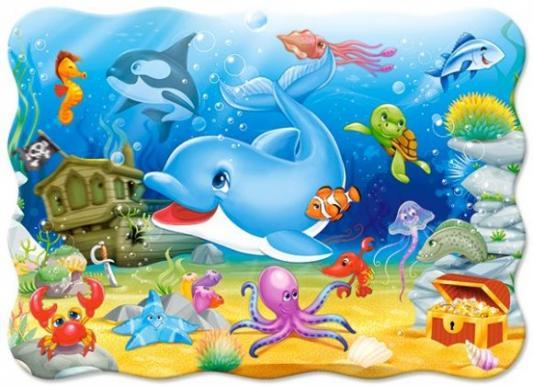 Пазл Кастор Подводные друзья 30 элементов В-03501 пазл 55 элементов кастор времена года в 043019