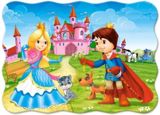 Купить Пазлы 30 Принц и принцесса midi, Кастор, Пазлы-картины