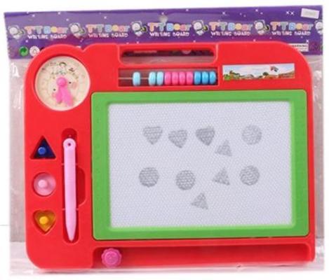 Магнитная доска Наша Игрушка Доска д/рис.магн со счетами HS907 игрушка