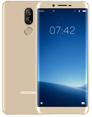 "Смартфон Doogee X60L золотистый 5.5"" 16 Гб LTE Wi-Fi GPS 3G"