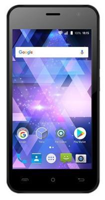 Смартфон BQ BQ-4585 Fox View серый 4.5 8 Гб Wi-Fi GPS 3G смартфон zte blade a510 серый 5 8 гб lte wi fi gps 3g