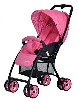 Купить Коляска прогулочная Everflo Letter E-501 (flamingo), розовый, Прогулочные коляски