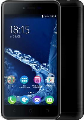 """Смартфон BQ BQ-5058 Strike Power Easy черный 5"""" 8 Гб Wi-Fi GPS 3G"""