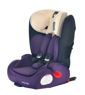 Автокресло Everflo Road Luxe Isofix (purple)